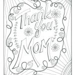Mom Coloring Sheets Amazing Thank You Teacher Coloring Pages – Wamifu