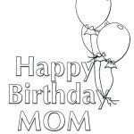 Mom Coloring Sheets Inspired Birthday Coloring Page Birthday Coloring Pages for Mom Happy
