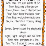 Monkey Preschool Animals Exclusive E Two Zoo Poem Great Poem for Zoo Week or Zoo themes Special