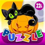 Monkey Preschool Animals Inspirational Abby Monkey Halloween Animals Shape Puzzle for toddlers and