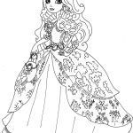 Monster High Color Pages Amazing Ever after High Coloring Pages