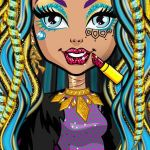 Monster High Color Pages Best Monster High™ Beauty Shop On the App Store