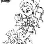 Monster High Color Pages Creative 60 Free Coloring Pages Dolls La Union