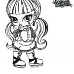 Monster High Coloring Games Elegant Monster Coloring Pages for Kids – Bahamasecoforum