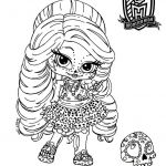 Monster High Coloring Games Inspired Monster High Coloring Pages Pdf Coloring Home