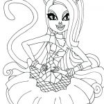 Monster High Coloring Pages Amazing Coloring Pages Of Monster High Dolls – Nagarkovil