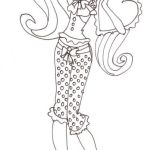 Monster High Coloring Pages Awesome Fresh Free Printable Monster High Coloring Pages Draculaura Dead