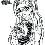 Monster High Coloring Pages Excellent Monster High Coloring Pages Frankie Stein at Getdrawings