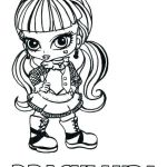 Monster High Coloring Pages Inspirational Monster High Coloring Pages Frankie Stein at Getdrawings