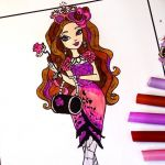 Monster High Coloring Pages Pdf Unique Ever after High Coloring Pages for Kids Ever after High Coloring
