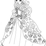 Monster High Coloring Pages to Print for Free Amazing Ever after High Coloring Pages