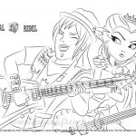 Monster High Coloring Pages to Print for Free Brilliant Ever after High Coloring Pages