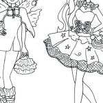 Monster High Coloring Pages to Print for Free Elegant Free Ever after High Coloring Pages – foraje Puturifo