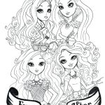 Monster High Coloring Pages to Print for Free Excellent Ever after High Coloring Pages – Danquahinstitute