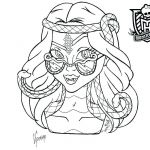Monster High Coloring Pages to Print for Free Exclusive Monster Printable Coloring Pages – Danquahinstitute