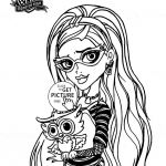 Monster High Coloring Pages to Print for Free Inspired 40 Elegant Ever after High Coloring Book