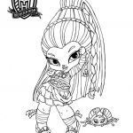 Monster High Coloring Pages to Print for Free Inspired Free Printable Monster High Coloring Pages for Kids