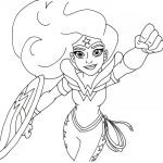 Monster High Colors Inspirational Wonder Woman Coloring Pages