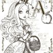 Monster High Printable Coloring Pages Beautiful Fun with the Descendants From Ever after High Coloring Pages