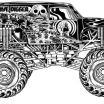 Monster Jam Coloring Book Amazing Grave Digger Coloring Pages Grave Digger Coloring Pages