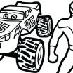 Monster Jam Coloring Book Exclusive Truck Picture to Color – 488websitedesign