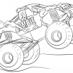 Monster Jam Coloring Book Pretty Truck Coloring Pages Pdf