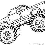 Monster Truck Coloring Book Awesome Truck Coloring Pages