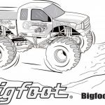 Monster Truck Coloring Book Brilliant Coloring Fabulous Monster Truckoloring Best Herry Picker Pages