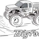 Monster Truck Coloring Book Elegant Free Truck Coloring Pages Unique New Printable Monster Truck