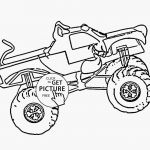 Monster Truck Coloring Book Exclusive Monster Truck Coloring Page