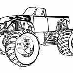 Monster Truck Coloring Book Pretty Monster Truck Coloring Pages