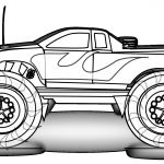 Monster Truck Coloring Book Wonderful Free Printable Monster Truck Coloring Pages for Kids