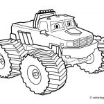 Monster Truck Coloring Book Wonderful Incredible Coloring Page Monster Truck