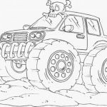 Monster Trucks Printable Coloring Pages Awesome Coloring Ideas 50 Staggering Police Monster Truck Coloring Pages