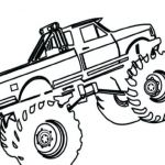 Monster Trucks Printable Coloring Pages Awesome Truck Coloring Pages
