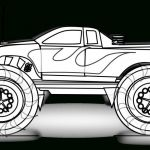 Monster Trucks Printable Coloring Pages Best Of Coloring Page Monster Trucks Colorings Free Printable Truck for