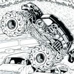 Monster Trucks Printable Coloring Pages Best Of Grave Digger Coloring Pages Truck Colouring Pdf Monster Book