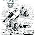 Monster Trucks Printable Coloring Pages Fresh Big Truck Coloring Pages – Reelradiofo