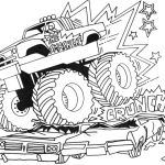 Monster Trucks Printable Coloring Pages Inspirational Free Truck for Kids Download Free Clip Art Free Clip Art