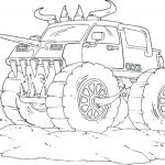 Monster Trucks Printable Coloring Pages Inspirational Monster Truck Coloring Page