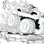 Monster Trucks Printable Coloring Pages Inspirational Truck for Coloring – Brandirector