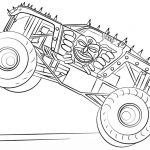 Monster Trucks Printable Coloring Pages New Coloring Page Creating Custom Hot Wheels Monster Truck Coloring