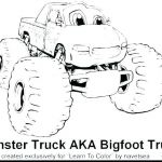 Monster Trucks Printable Coloring Pages New Free Monster Truck Coloring Pages to Print – Mariage isa Maxfo