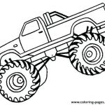 Monster Trucks Printable Coloring Pages Unique Truck Coloring Pages