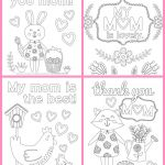 Mothers Day Cards Coloring Creative Coloring Best Mom Mothers Day Coloring Page for Kids Pages