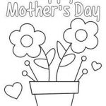 Mothers Day Cards Coloring Excellent 71 Best Mothers Day Coloring Sheets Images