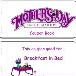 Mothers Day Cards Coloring Inspiring Printable Mother S Day Coupon Book and Activities