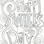 Mothers Day Cards Coloring Pretty Free Printable Mother S Day Coloring Pages