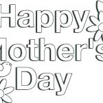 Mothers Day Cards Colouring Amazing Mothers Day Coloring Cards – Koshi Afo