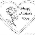 Mothers Day Cards Colouring Exclusive A Mothers Love Coloring Page Happy Mothers Day Drawing at